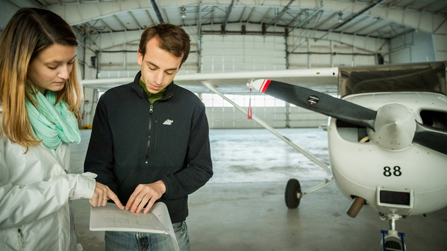 Southern New Hampshire University has a vision to make collegiate flight training more affordable in the context of a four-year degree program. Photo courtesy of Southern New Hampshire University.