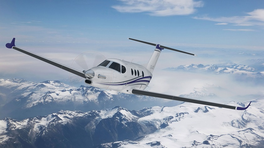 Textron Aviation's Cessna Denali single-engine turboprop will feature GE Aviation's Catalyst Advanced Turboprop Engine. Image courtesy of Textron Aviation.