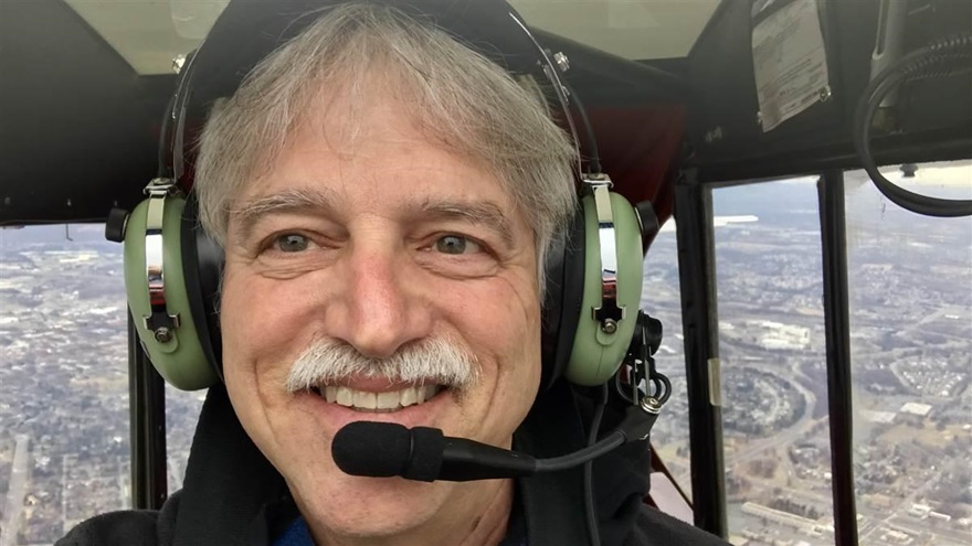 A Super Cub grin was achieved by AOPA Associate Editor David Tulis after a tailwheel endorsement from his mentor that proved to be a personal milestone. Photo by David Tulis.