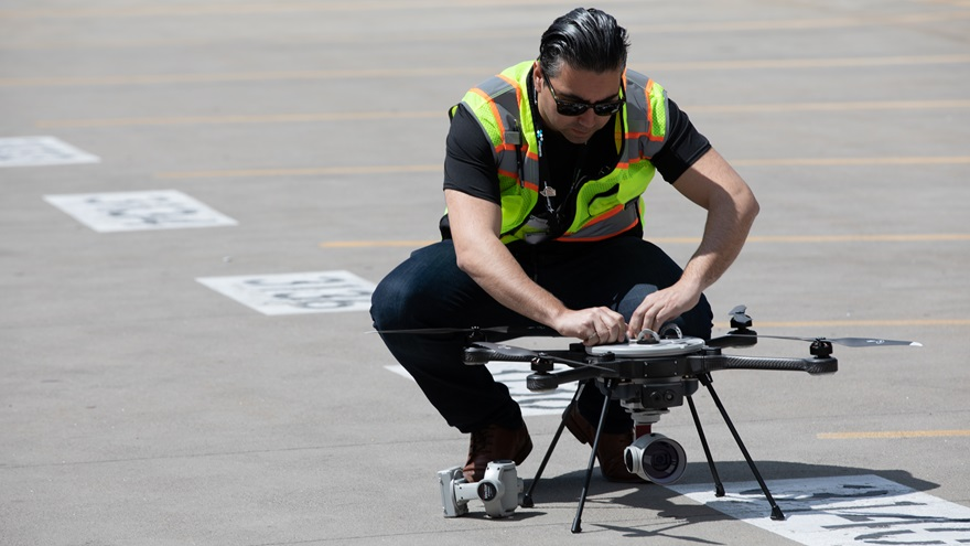 The FAA expects significant growth in commercial drones and remote pilots to continue for years after growth in the hobbyist segments slows. Jim Moore photo.