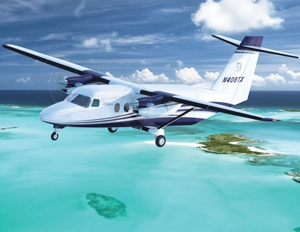 A Cessna SkyCourier is depicted in this image courtesy of Textron Aviation.