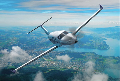 A Cessna Denali is depicted in this image courtesy of Textron Aviation.