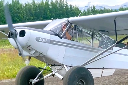 Georgetown University medical student Sarah Powell took advantage of a forced break in her education to earn her private pilot certificate in 26 days. Photo courtesy of ACME Cub Training.