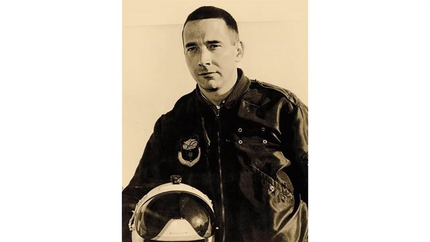 Walter Boyne, a B-47 pilot, former Smithsonian National Air and Space Museum director, writer, and historian. Air Force photo.