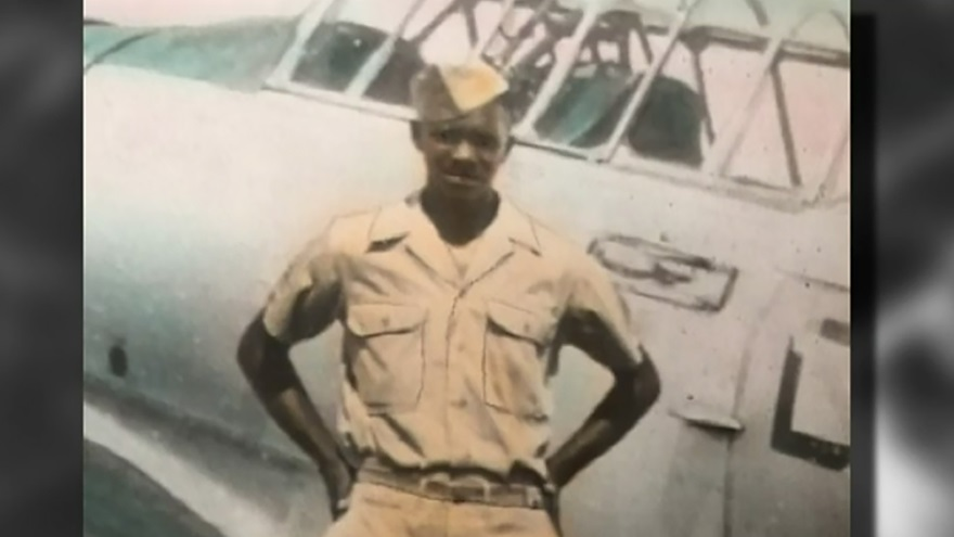 Tuskegee Airman Hilton Carter went on to a career in public service in Columbus, Ohio. He died May 6 at the age of 91. Image courtesy of the Hilton Carter family, via Marlan J. Gary Funeral Home.