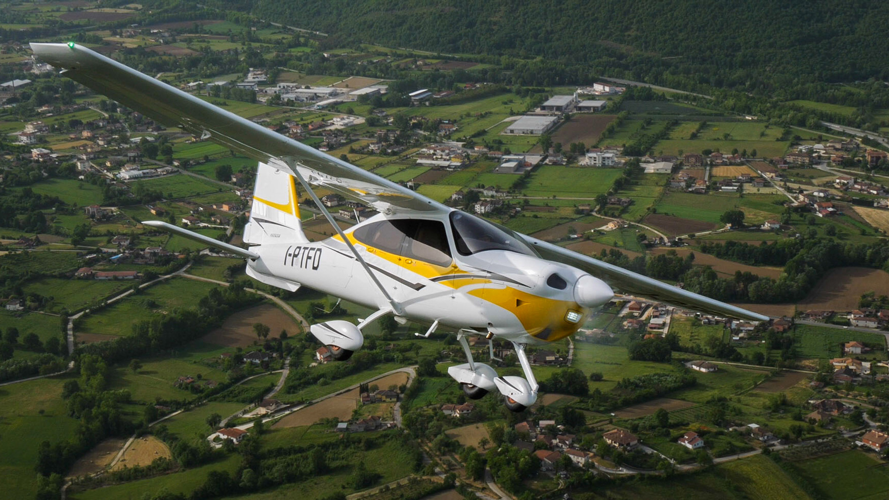 Italian aircraft manufacturer Tecnam introduced a liquid-cooled 170-horsepower Continental Aerospace Technologies CD-170 Jet A engine into its four-place P2010 TDI single for greater range and improved efficiency. Photo courtesy of Tecnam.