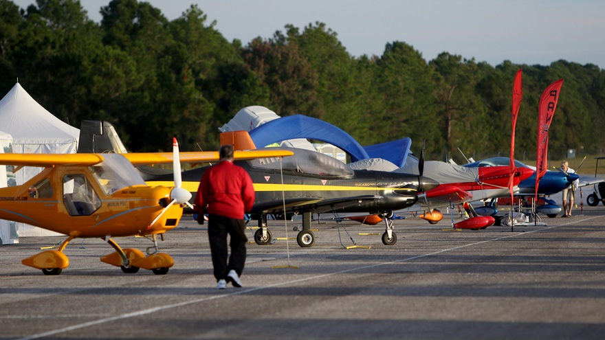 The DeLand Sport Aviation Showcase has been postponed until November 2021 because of the coronavirus pandemic. Photo courtesy of DeLand Sport Aviation Showcase.