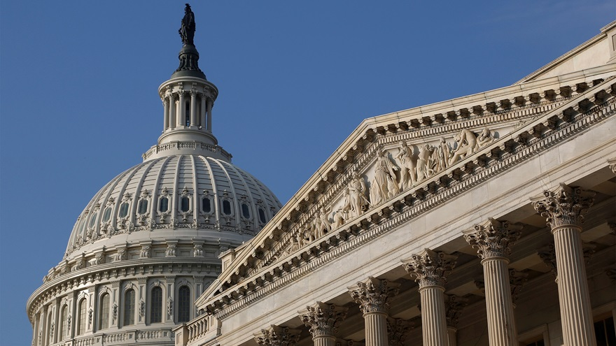 A general view of the U.S. Capitol dome in Washington, D.C., Oct. 4, 2013. File photo by Jonathan Ernst, REUTERS.