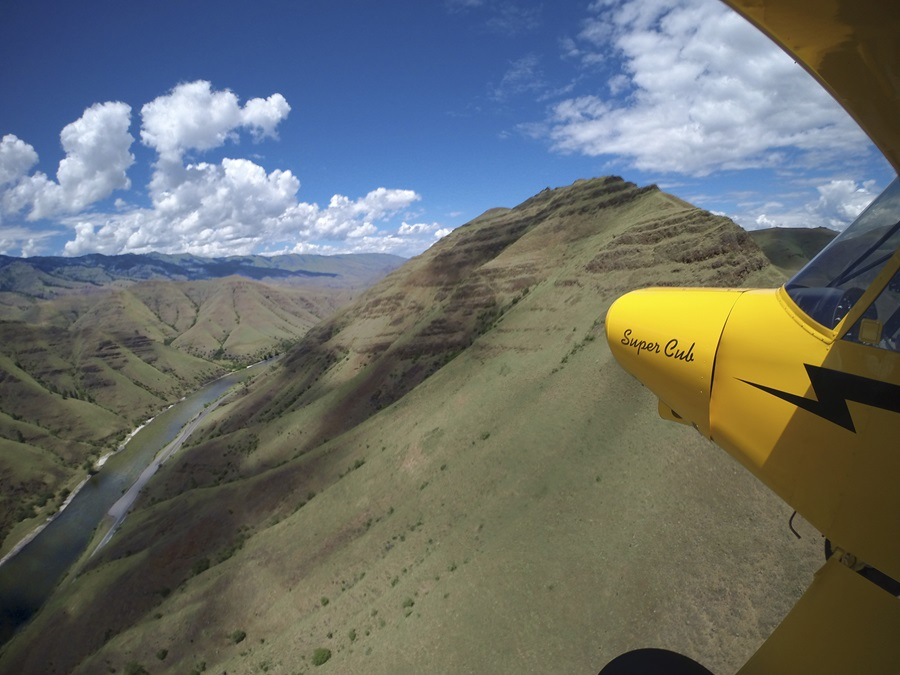 Flying the Idaho wilderness