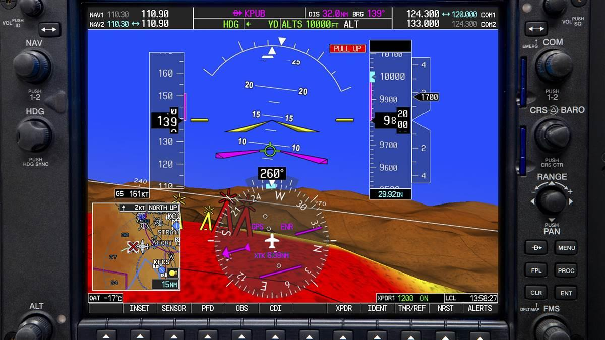 Turbine Pilot Synthetic Vision