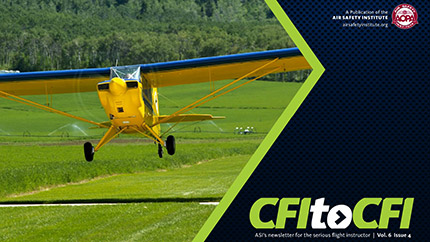 CFI to CFI Newsletter