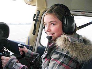118 girls and women were introduced to flying on Dec. 18.