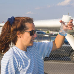 water contamination in avgas