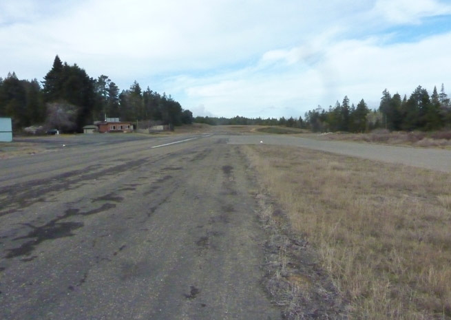 Privately owned, public-use Ocean Ridge Airport is facing financial challenges to repair its runway. Photo courtesy of Julie Bower.