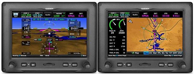 The 7-inch G3X Touch display offers an option for pilots of experimental and light sport aircraft where panel space is a concern.