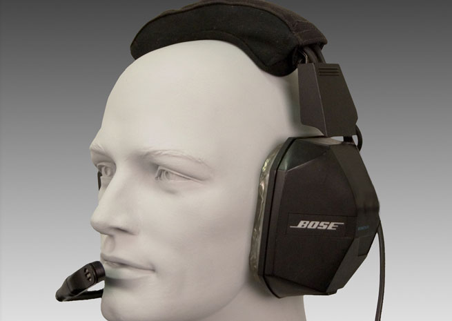 The original Bose Series I headset, from 1989.