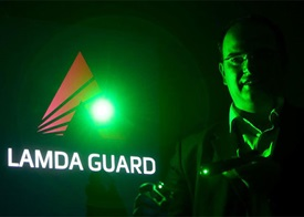 Frost & Sullivan applauded Lamda Guard for developing a specialized film that can protect pilots from laser attack. PRNewsFoto/Frost & Sullivan.