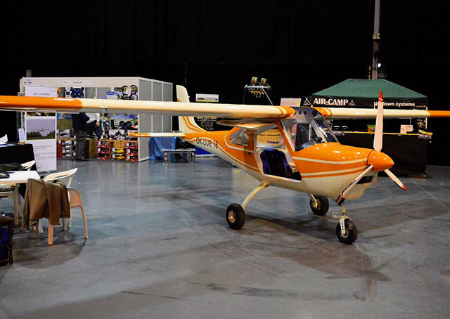 The Merlin single-seat airplane, built by TechPro Aviation, is advertised as a $35,000 kitplane that can be built in 15 days.