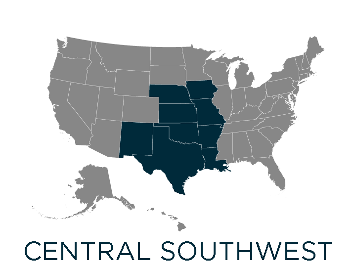 central southwest region