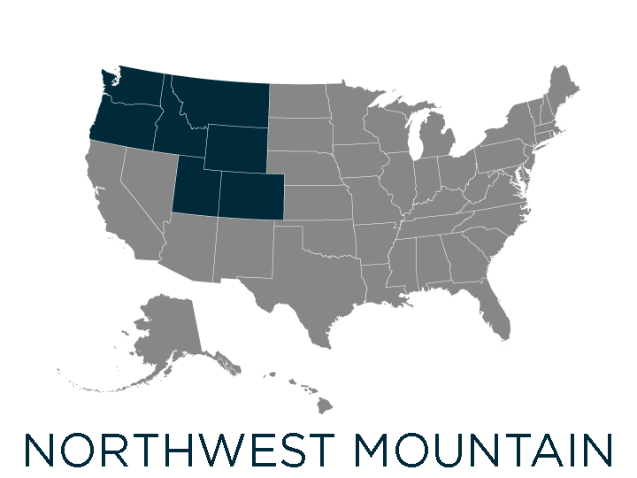 northwest mountain region