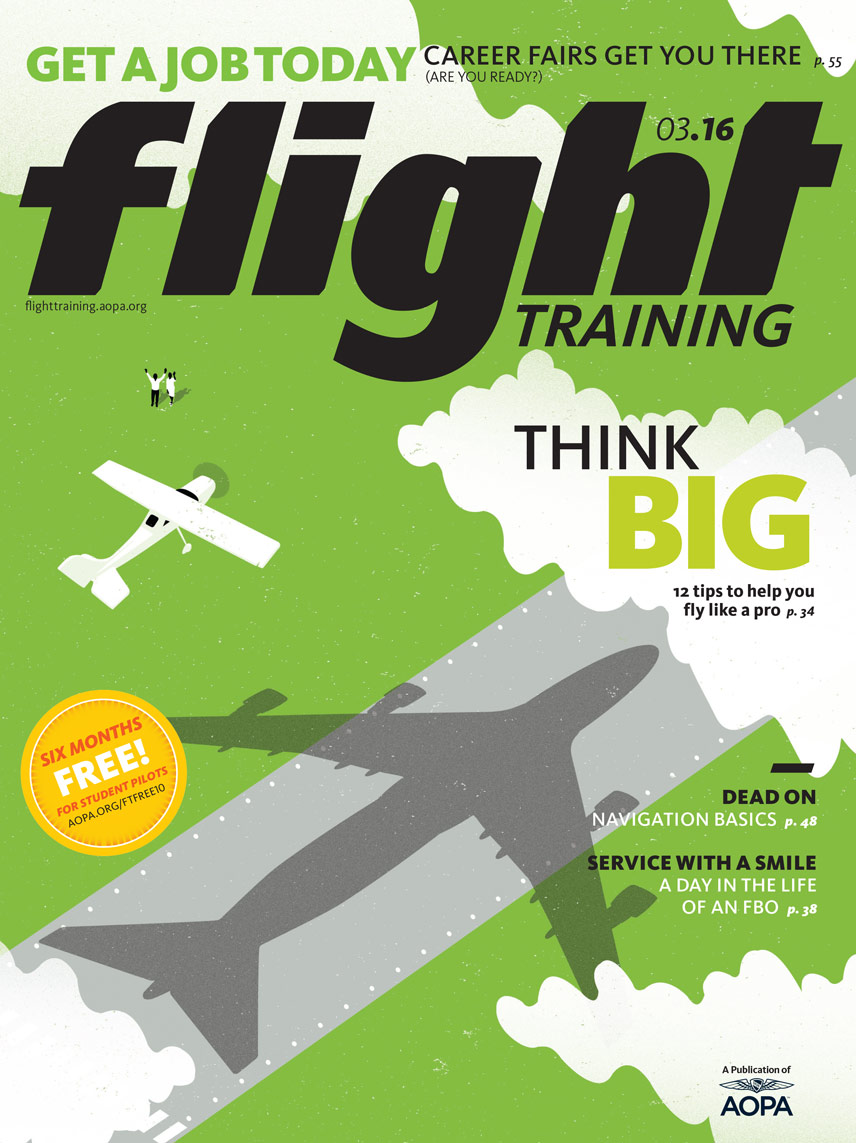 AOPA Flight Training Magazine Cover