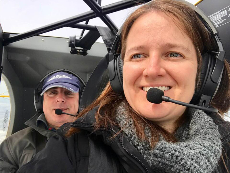AOPA Editor at Large Dave Hirschman and AOPA Online Managing Editor Alyssa Cobb take off from wintery Montana on April 7 headed to sunny Florida for the Sun n Fun International Fly-In and Expo.