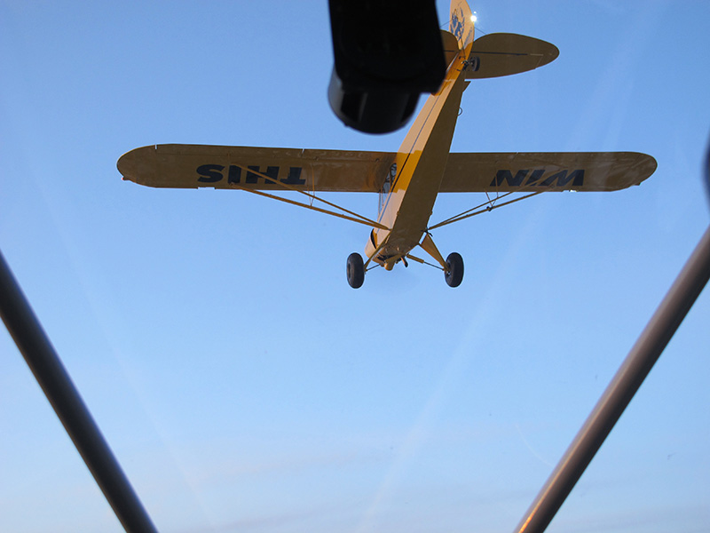 Who won't want to WIN THIS completely restored AOPA Sweepstakes Super Cub!
