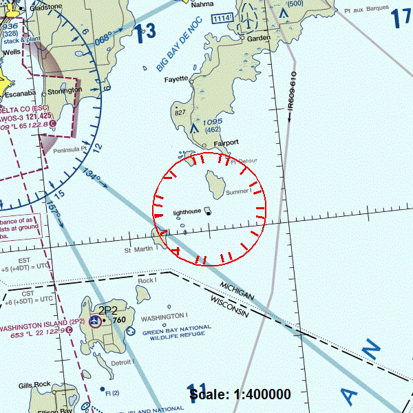 Poverty Island notam image