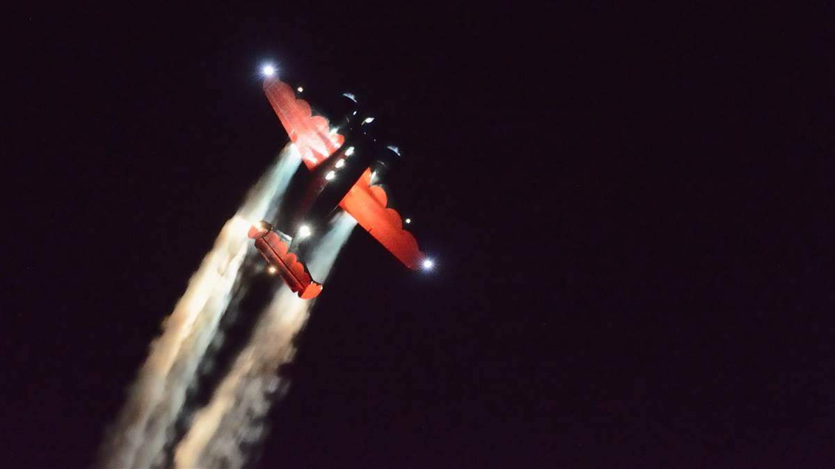 EAA AirVenture night airshow