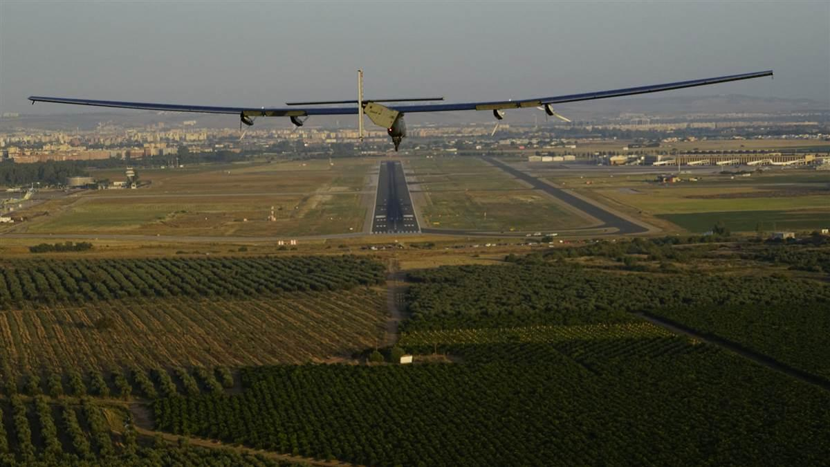 Solar Impulse 2 arrives at Seville International Airport June 23. Photo courtesy of Solar Impulse.