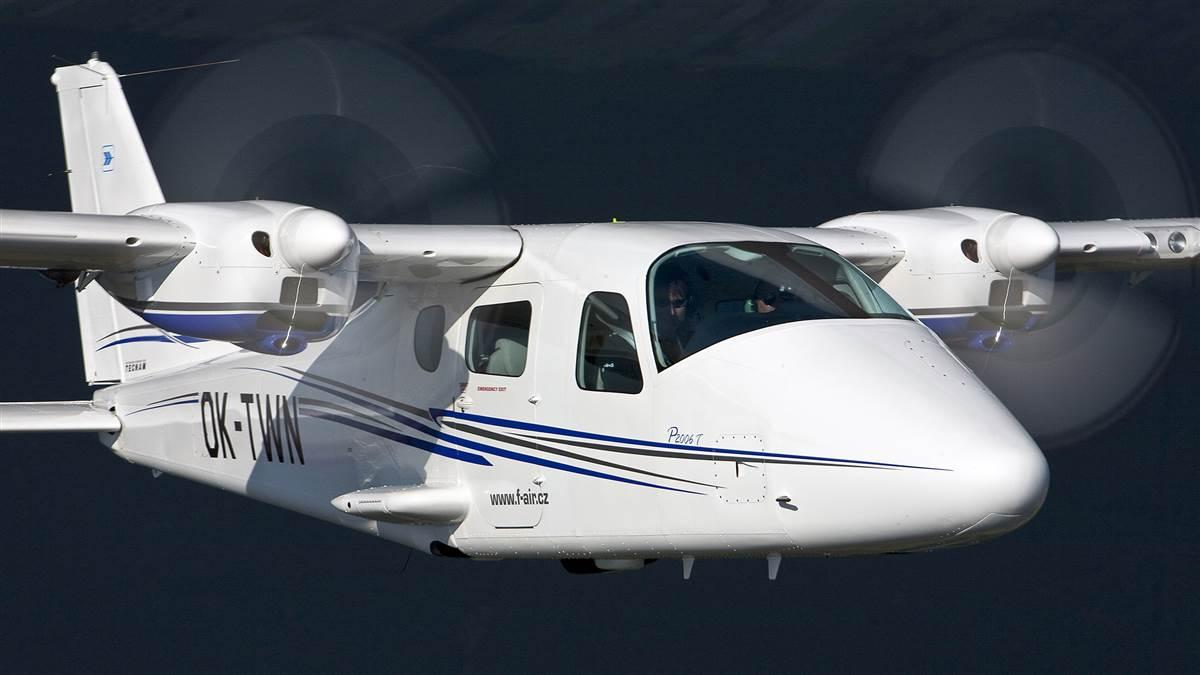 Purdue Aviation, Purdue Research Foundation and TECNAM will use a P2006T for flight training, rental, and to provide increased flight school integration and maintenance services. Photo courtesy of Costruzioni Aeronautiche TECNAM.