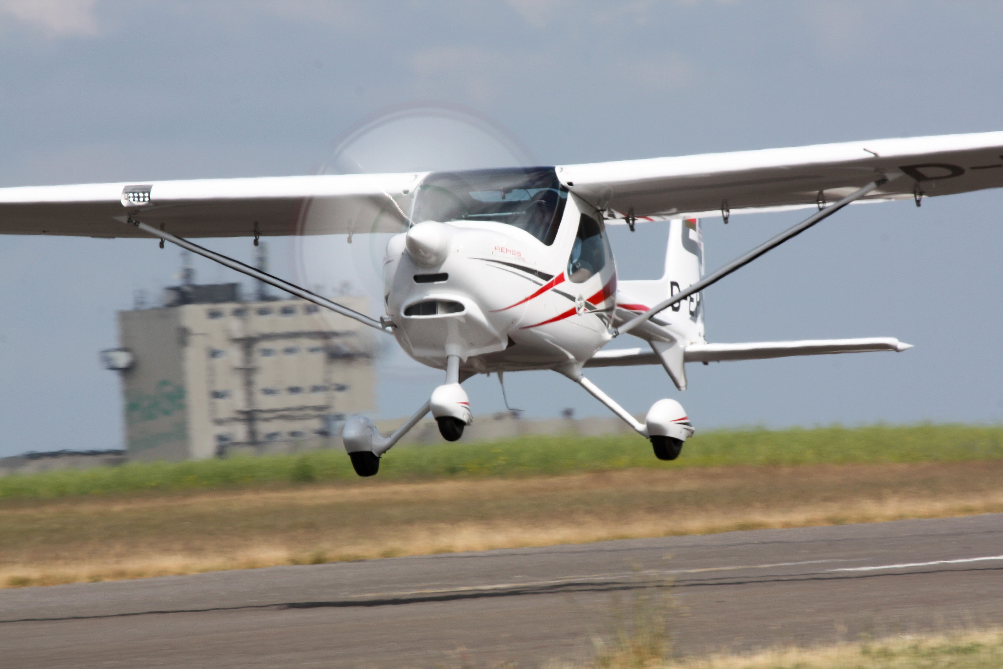 The Remos GXiS made its first flight May 26. Photo courtesy of Remos AG.