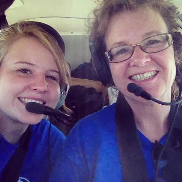 Jill is an AOPA technical editor and an instrument-rated private pilot who owns a Piper Cherokee 140. She has two children, Maddie and William.