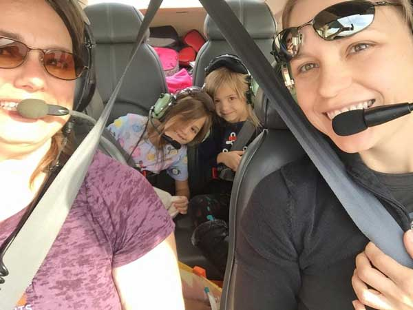 Toni Mensching is director of the AOPA Pilot Information Center, and a commercial pilot, flight instructor, and former airline pilot. Her two young daughters are Elizabeth and Liberty.