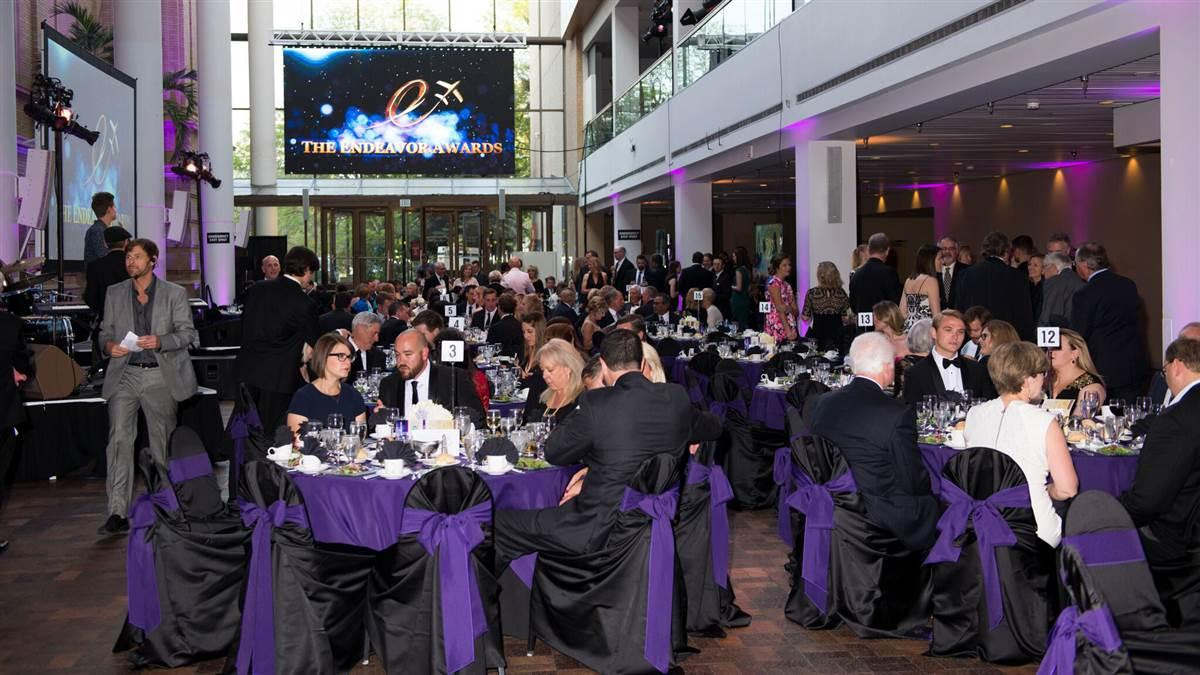 The 2016 Endeavor Awards gala was held at the Denver Museum of Nature and Science. Photo courtesy of Angel Flight West.