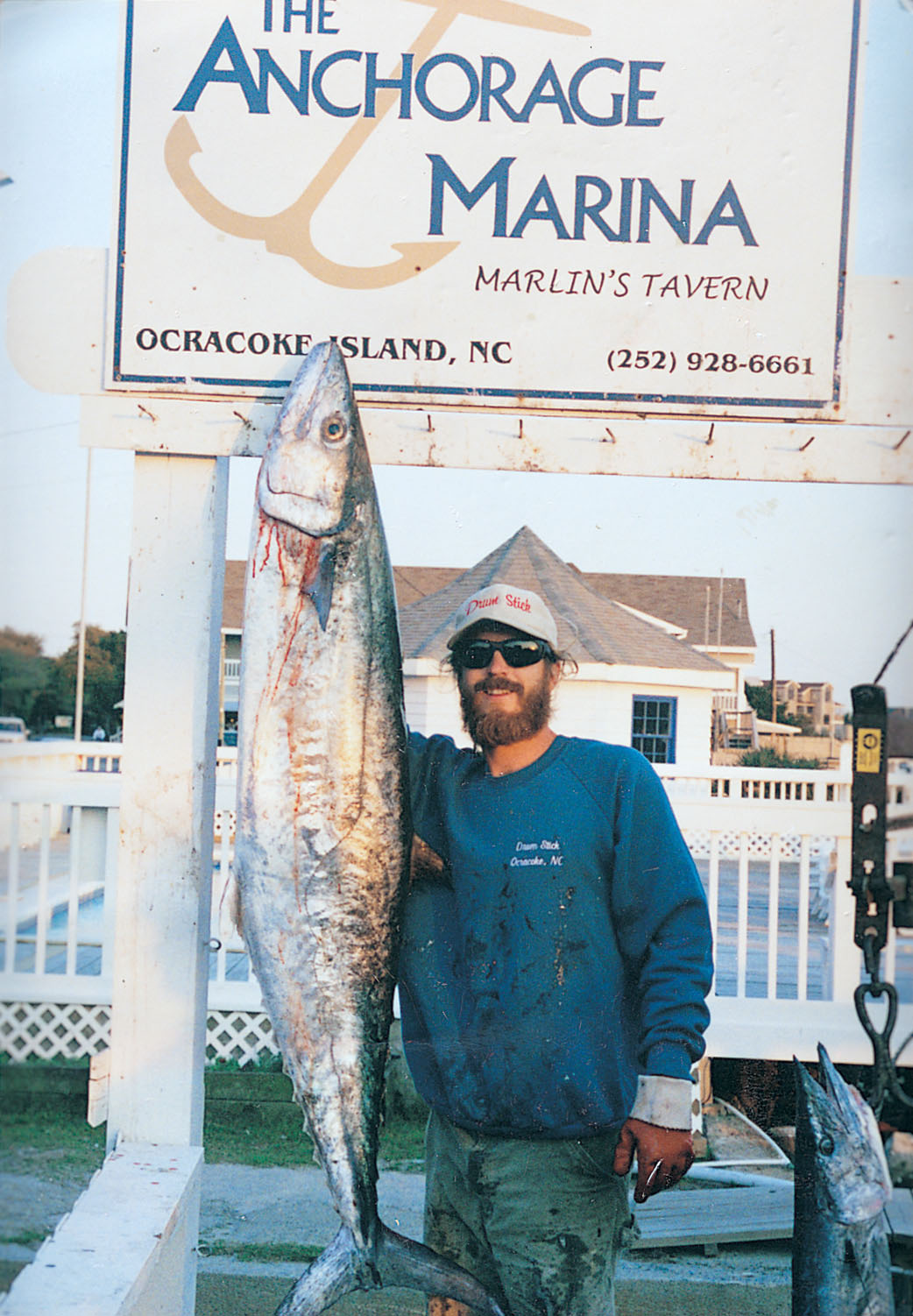 The Anchorage Inn offers fishing charters and boat rentals at their marina. Photo courtesy of The Anchorage Inn.