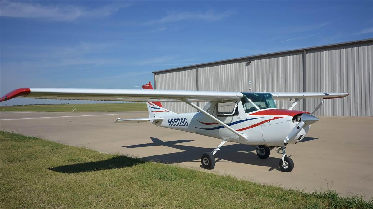Build A Plane, in conjunction with the Eagle Flying Museum, will raffle off a refurbished Cessna 150 to fund youth aviation education programs. Raffle tickets are $50 and sales will end Christmas Eve. Photo courtesy of Build A Plane.