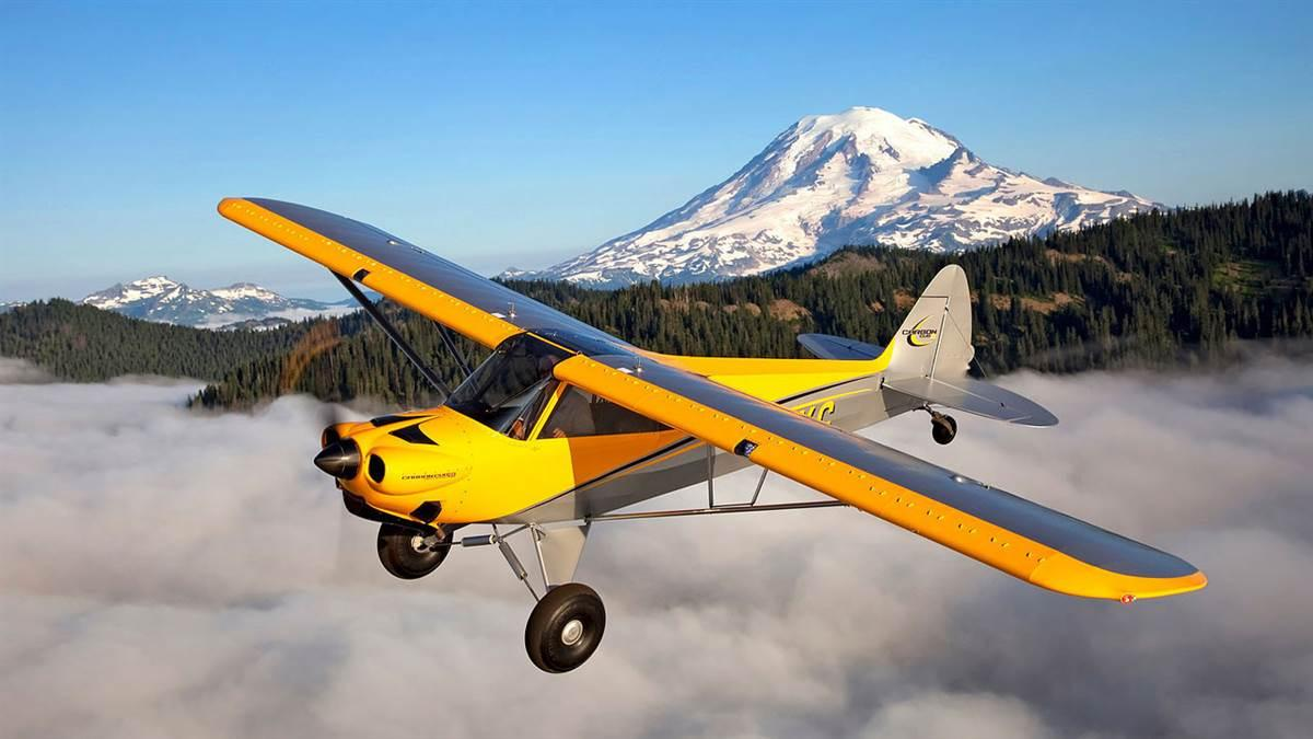 CubCrafters now offers airframe parachute retrofits at six service centers around the country. Parachutes can be purchased for the LSA Sport Cub and Carbon Cub SS models (shown here), and the Carbon Cub EX, EX-2, and FX models. Photo courtesy of CubCrafters.