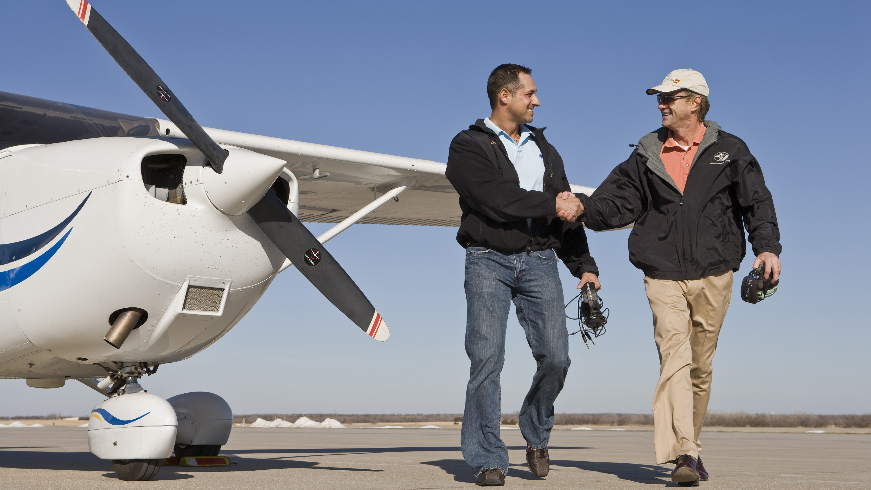 Positive relationships between a CFI and student can add value both on and off the ramp. Photo by Mike Fizer.