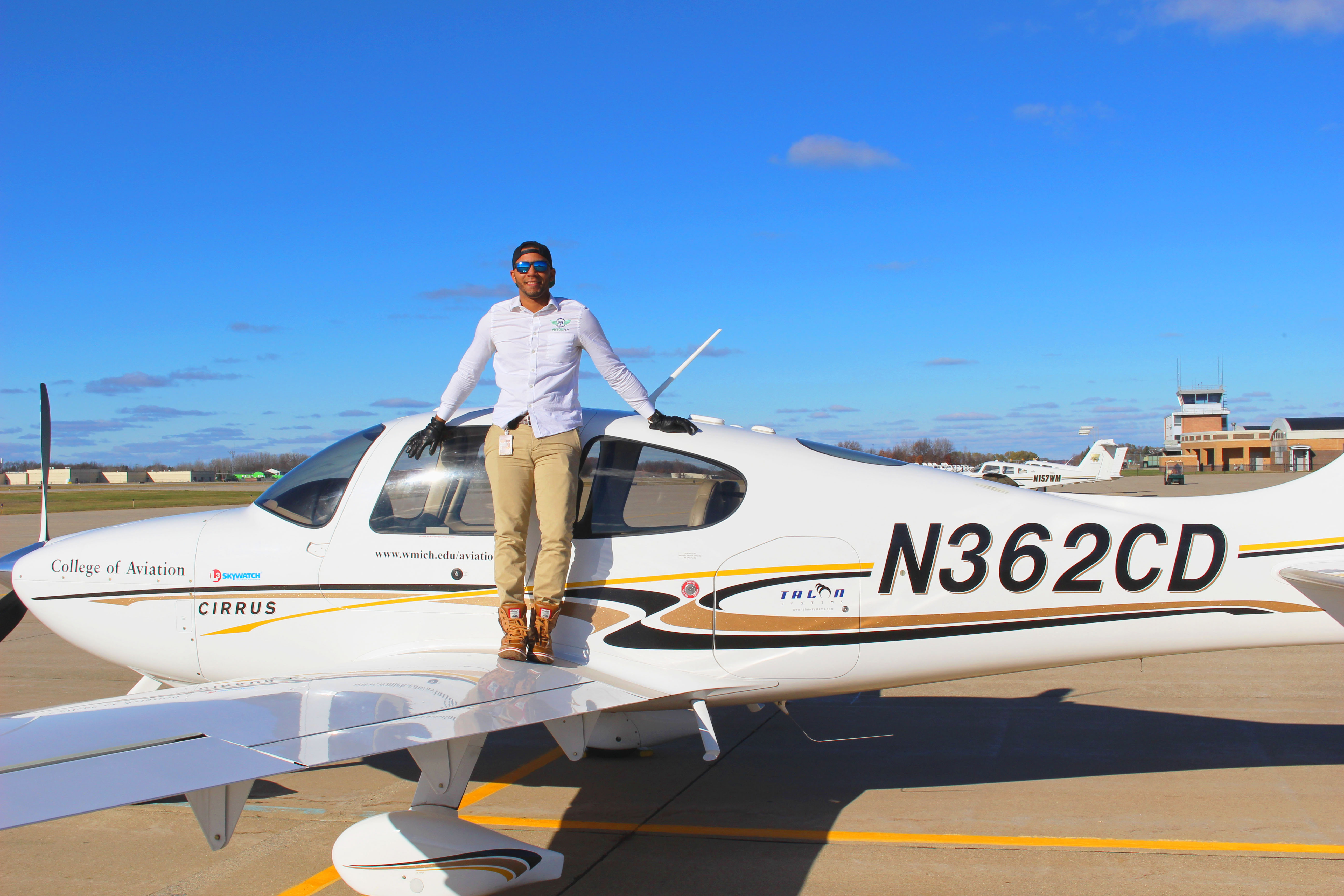 PistonFly's Miguel del Rosario is an aviation maintenance specialist. Photo courtesy of PistonFly.