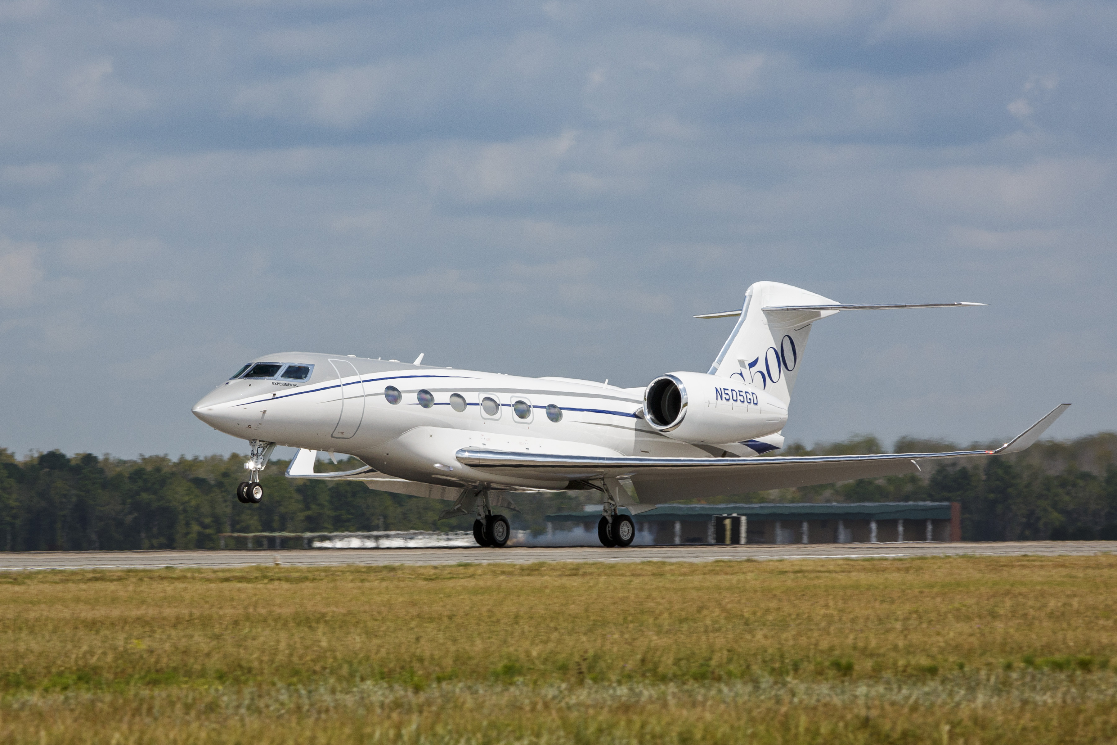 The Gulfstream G500 will be delivered in 2018.