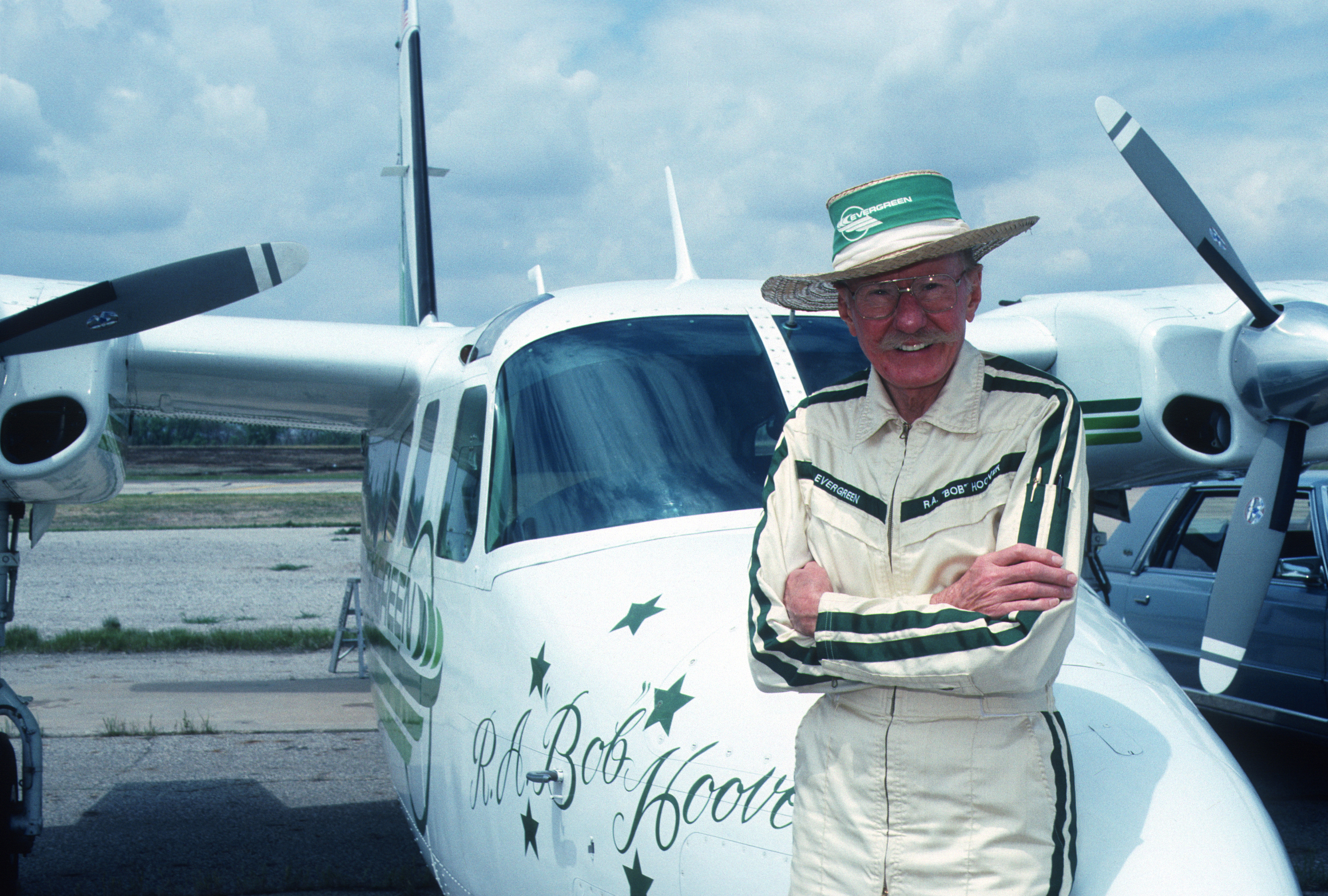 R.A. 'Bob' Hoover is remembered as one of the greatest pilots and inspired generations of aviators to follow in his footsteps. Courtesy photo.