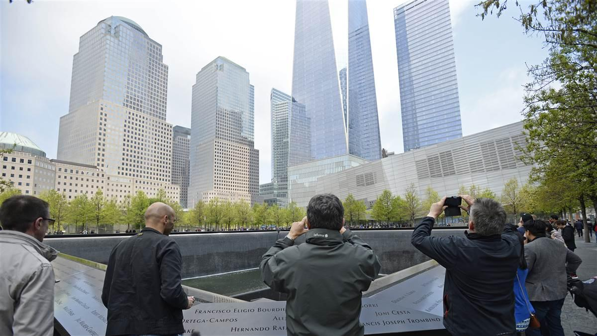 New York's National September 11 Memorial & Museum is a stark reminder of the terrorism that struck the World Trade Center's Twin Towers in 2001. The event significantly changed U.S. aviation. Photo by David Tulis.