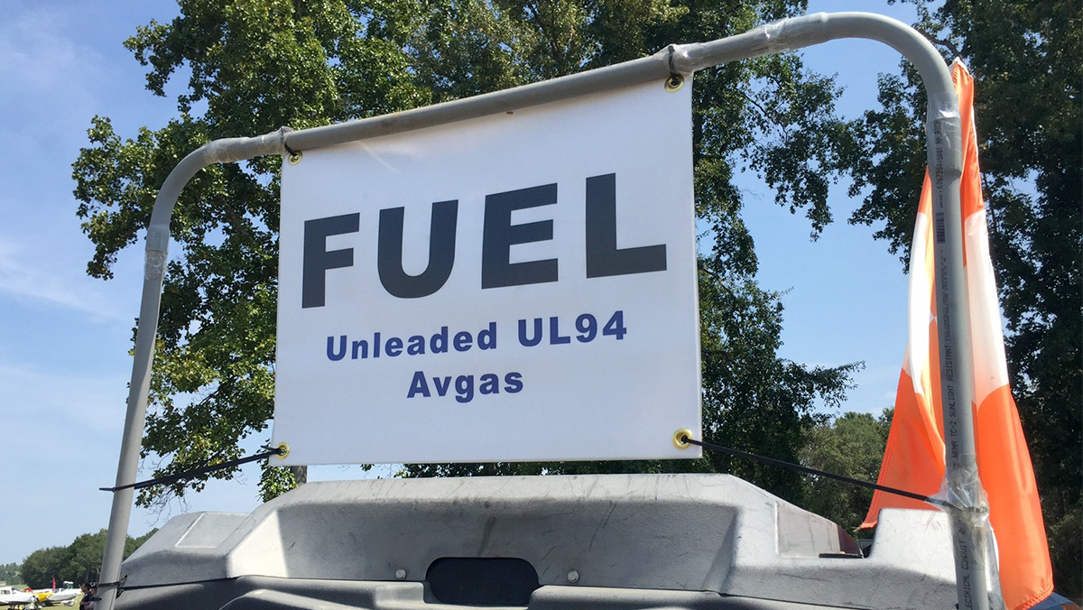Swift Fuels offers UL94, which is chemically identical to 100LL without tetraethyl lead.