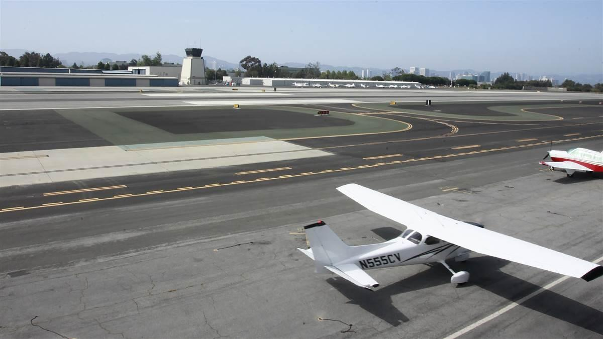 Santa Monica Municipal Airport. Photo by Chris Rose.