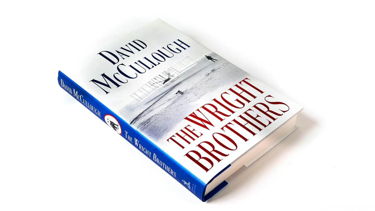 "David McCullough wins the Combs Gates Award for his best-selling book, ""The Wright Brothers."""
