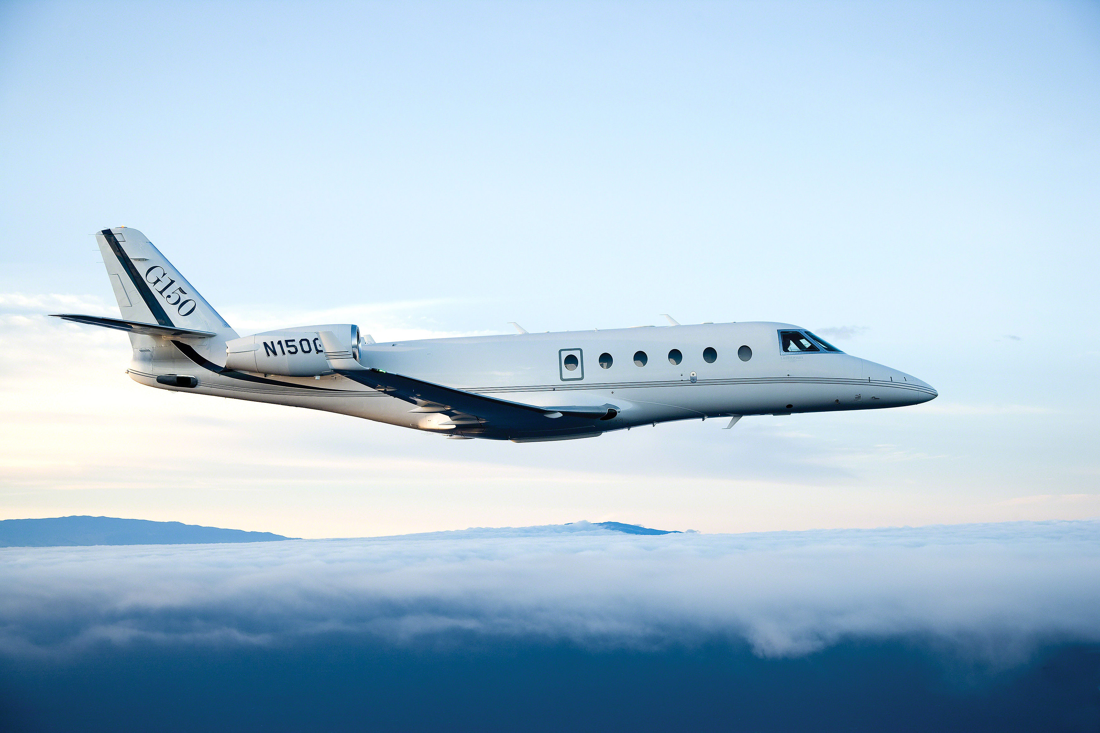 Gulfstream Aerospace announced the end of the line for its G150 mid-size business jet. Photo courtesy of Gulfstream Aerospace.