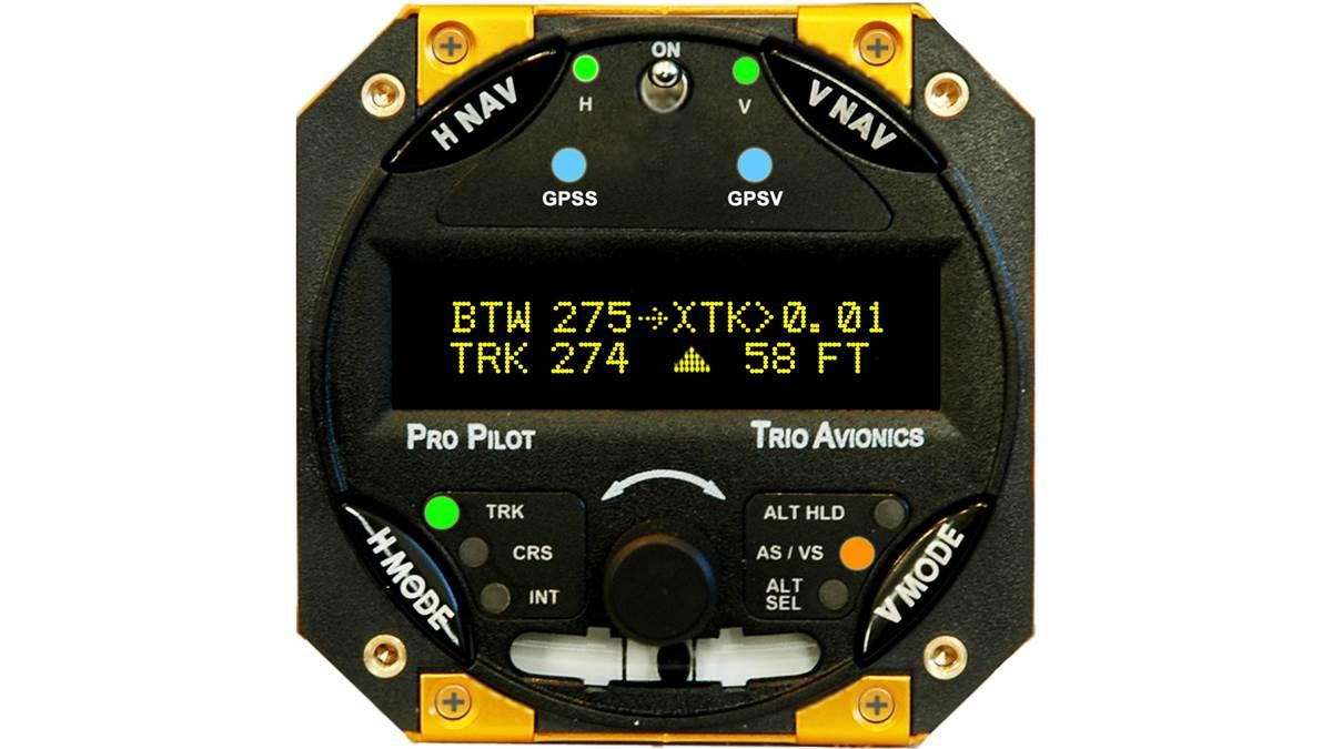 Trio Avionics has secured installation kit approval for Pro Pilot autopilot installations in Cessna 172 and 182 models. Photo courtesy of Trio Avionics.