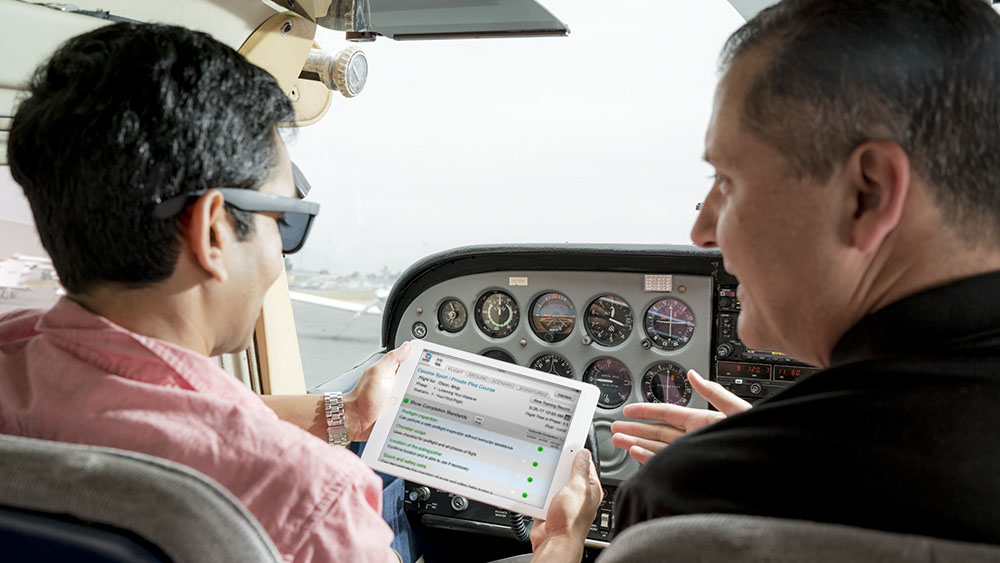 King Schools announced a new iPad application to help Cessna Pilot Center instructors log flights, track syllabus progress, and electronically sign training records.