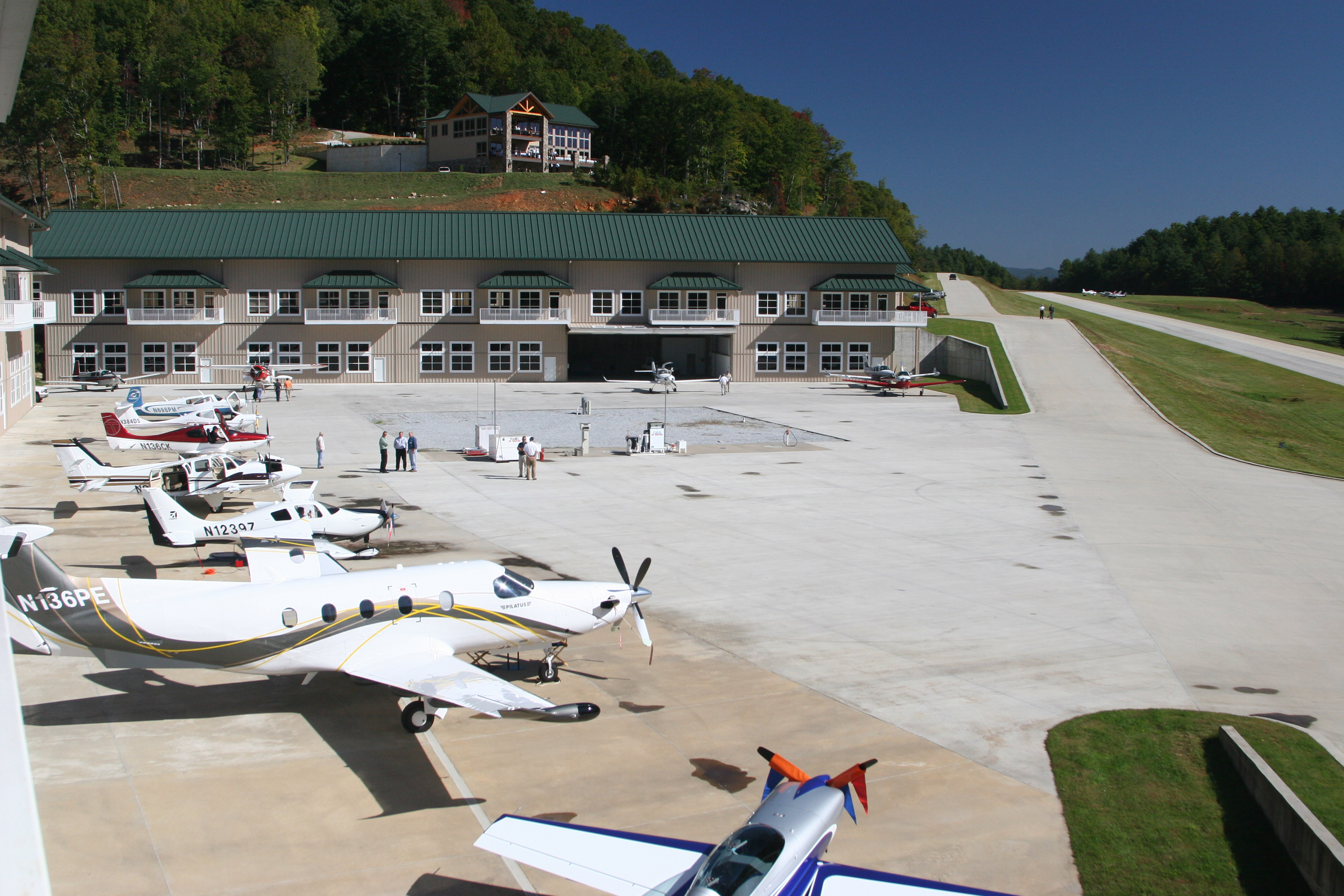Heaven's Landing is a mountain airstrip community nestled among the Appalachian Mountains in Georgia's Rabun County. Photo courtesy of Heaven's Landing.